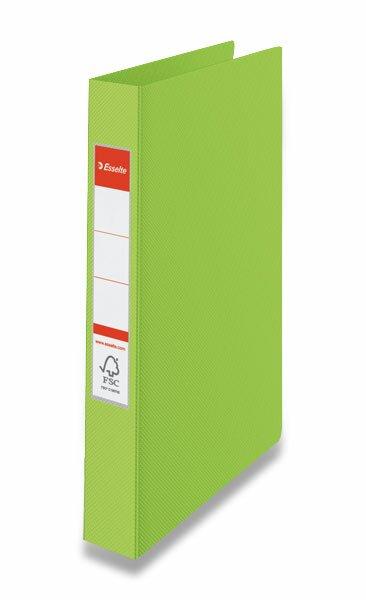 2-kroužkový pořadač Esselte zelený