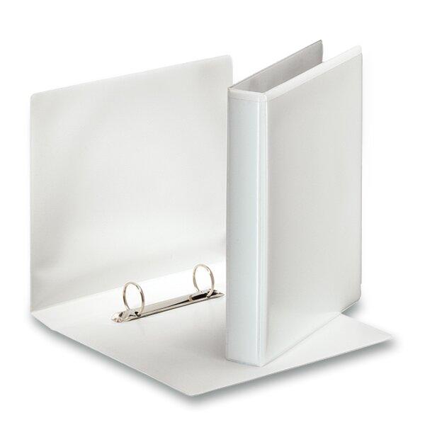 2-kroužkový pořadač Esselte plast, A5, 35 mm, bílý