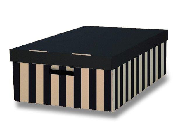 2 úložné krabice HIT Office s nosností 10 kg 2 ks, 370 x 180 x 560 mm