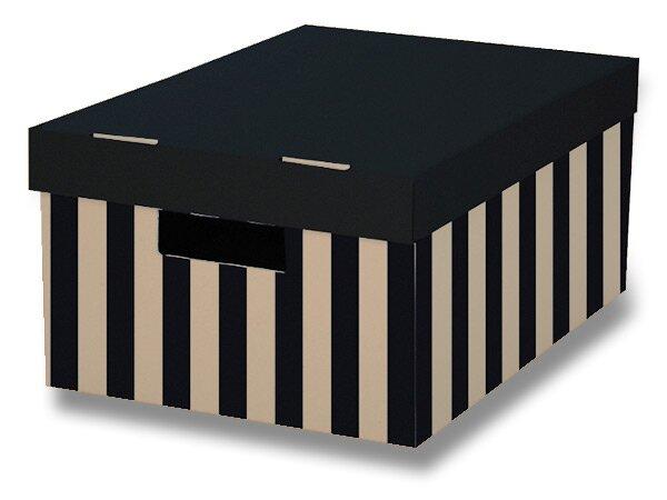 2 úložné krabice HIT Office s nosností 5 kg 2 ks, 370 x 180 x 280 mm