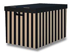 2 úložné krabice HIT Office s nosností 15 kg