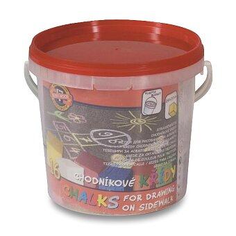 Obrázek produktu Chodníkové křídy Koh-i-noor - 16 ks, 8 barev