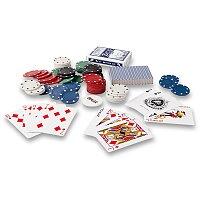 Full house - sada na poker v plechové krabičce