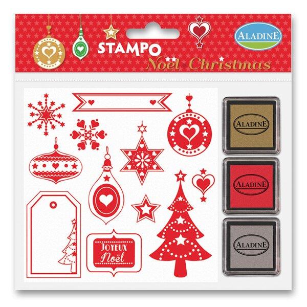 Razítka Stampo Christmas - Vánoční mix