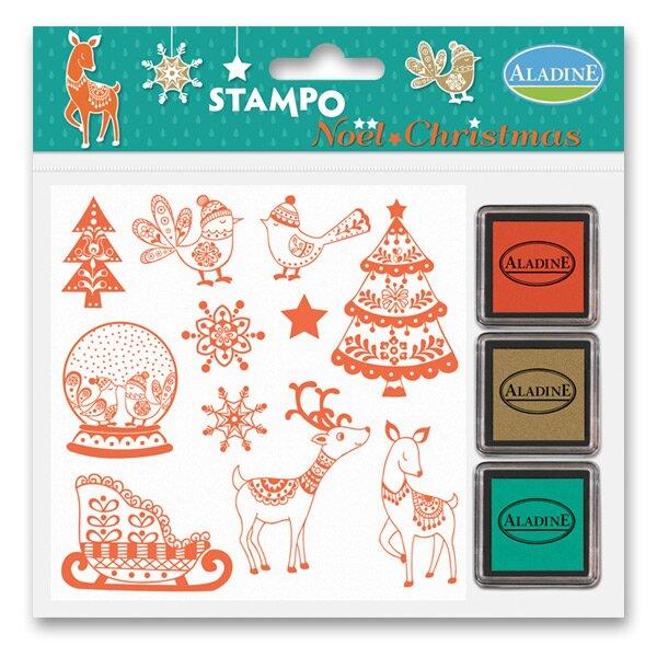 Razítka Stampo Christmas - Vánoční zvířátka
