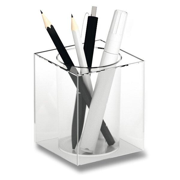 Stojánek na psací potřeby Durable Cubo čirý