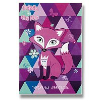 Desky na abecedu Frieda the Fox