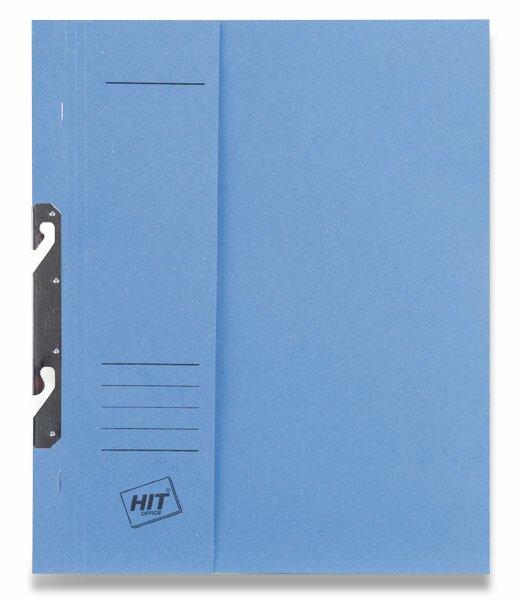 Rychlovazač závěsný papírový půlený HIT Office modrý