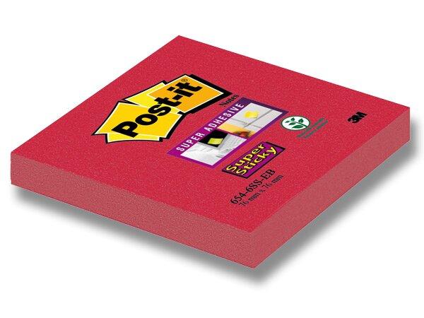 Samolepící bloček 3M Post-it Super Sticky červený