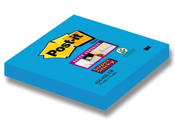 Samolepící bloček 3M Post-it Super Sticky modrý