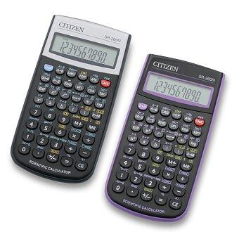 Obrázek produktu Vědecký kalkulátor Citizen SR-260N - černý