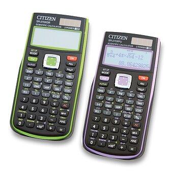 Obrázek produktu Vědecký kalkulátor Citizen SR-270X - výběr barev