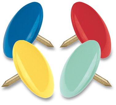 Obrázek produktu Připínáčky Maped barevné v krabičce - 100 ks