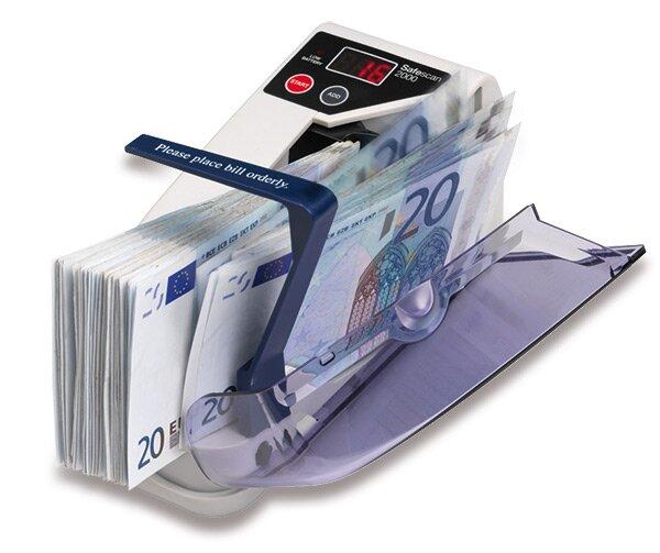 Počítačka bankovek a stravenek Safescan 2000 kapesní provedení