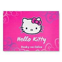Desky na číslice Hello Kitty
