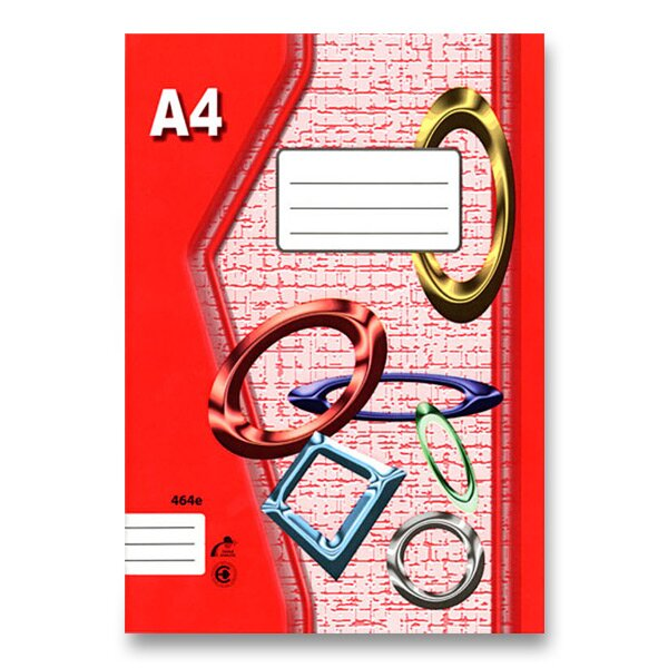 Školní sešit EKO 424 A4, linkovaný, 20 listů