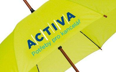 Sítotisk na deštníky - 3 barvy