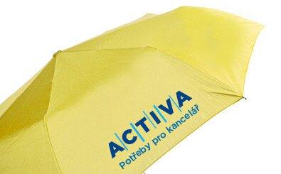 Sítotisk na skládací deštníky - 3 barvy