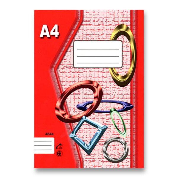 Školní sešit EKO 464 A4, linkovaný, 60 listů