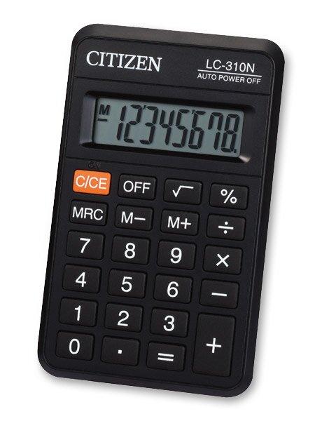 Kapesní kalkulátor Citizen LC-310N