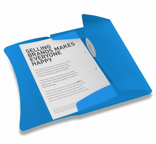 Spisové desky s gumičkou Esselte Vivida modré