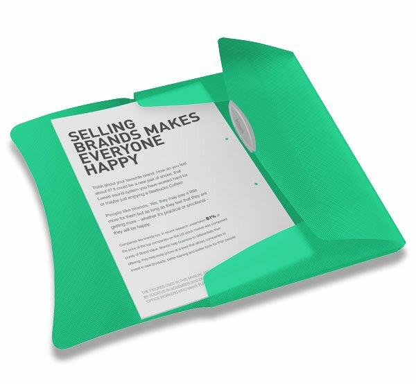 Spisové desky s gumičkou Esselte Vivida zelené