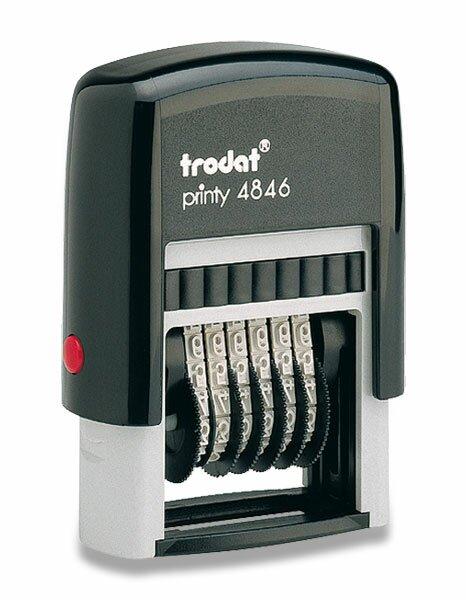 Číslovací razítko Trodat 4846