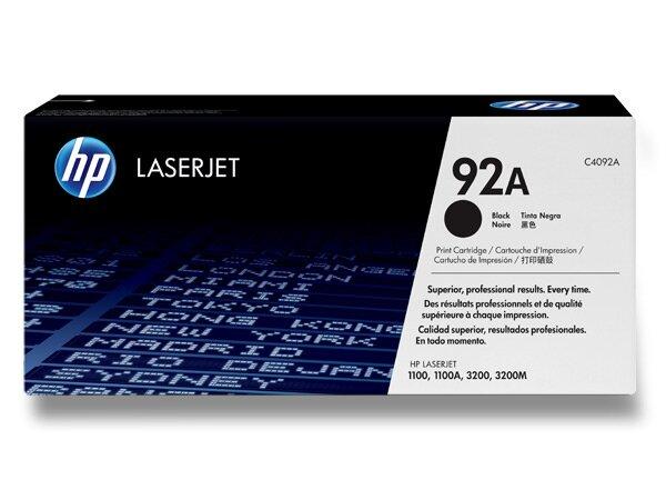 Toner HP C4092A č. 92A pro laserové tiskárny black (černý)