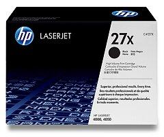 Toner HP C4127X - black (černý) č. 27X pro laserové tiskárny
