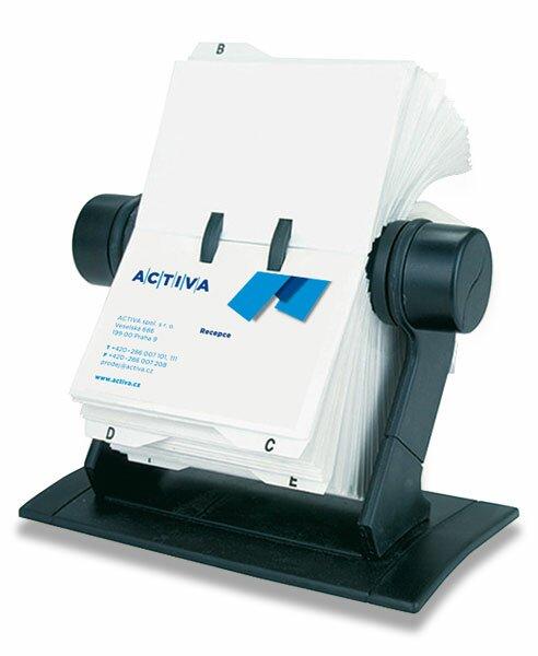 Rotační vizitkář Auttep Rotacard RV 225 na 450 vizitek, černý