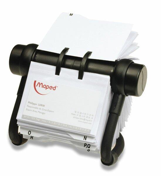 Rotační vizitkář Auttep Rotacard RV 225 kapacita 450 vizitek