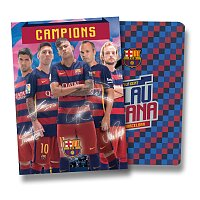 Školní sešit 544 FCB Barcelona