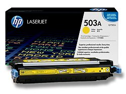Toner HP Q7582A č. 503A pro laserové tiskárny