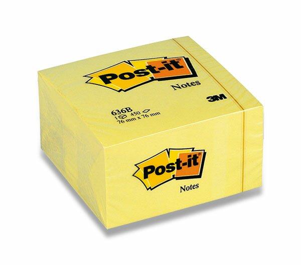 Samolepicí bloček 3M Post-it 636B 76 x 76 mm, 450 listů