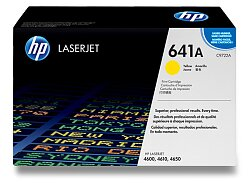 Toner HP C9722A č. 641A pro laserové barevné tiskárny