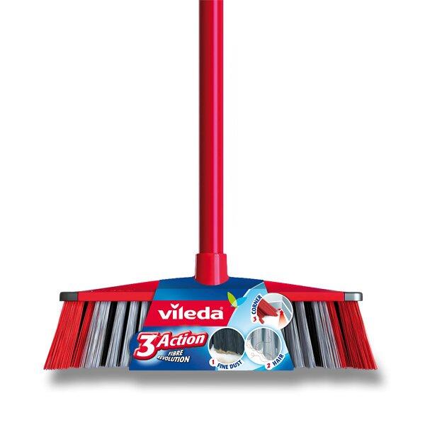 Smeták Vileda 3 Action s holí 130 cm