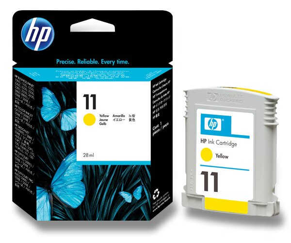 Cartridge HP C4838A č. 11 pro inkoustové tiskárny yellow (žlutý)