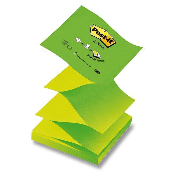 Samolepicí Z-bločky 3M Post-it R-330-N 76 x 76 mm, 100 listů, zelený