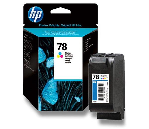Cartridge HP C6578DE - color č. 78 (barevná) pro inkoustové tiskárny color (barevná)