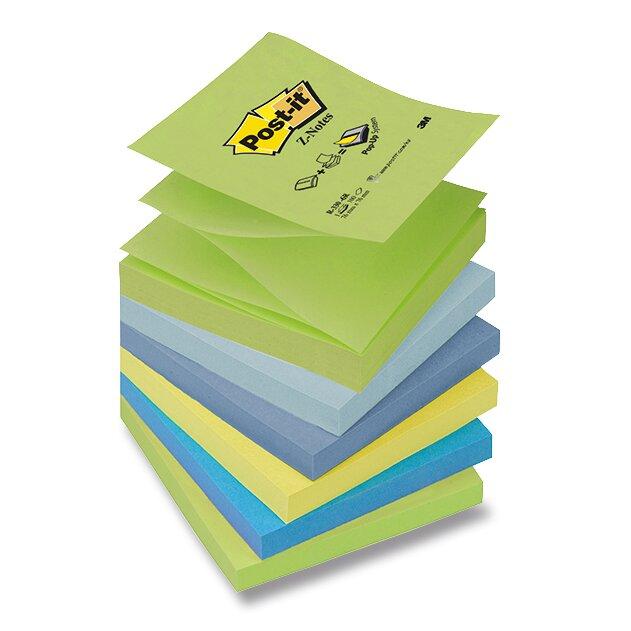 Samolepicí Z-bločky 3M Post-it R-330-N 76 x 76 mm, 100 listů, 6 barev