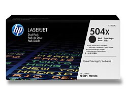 Toner HP CE250XD dual pack pro laserové tiskárny
