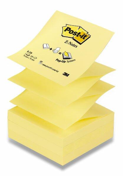 Samolepicí Z-bločky 3M Post-it R-330-N 76 x 76 mm, 100 listů, žlutý