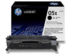 Toner HP CE505X - black (černý) č. 05X pro laserové tiskárny