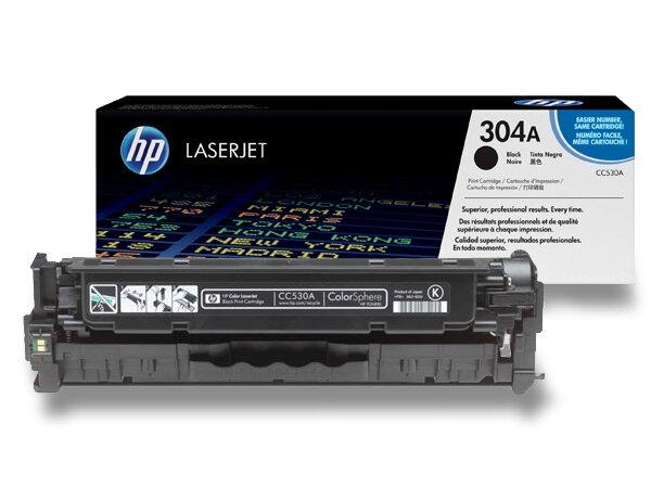 Toner HP CC530A č. 530A pro laserové barevné tiskárny black (černý)