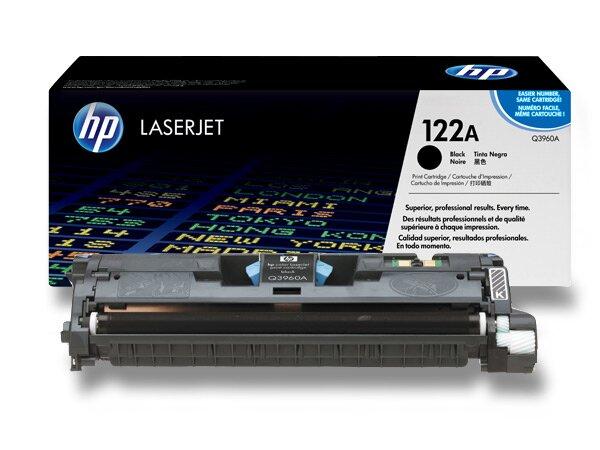 Toner HP Q3960A č. 122A pro laserové barevné tiskárny black (černý)