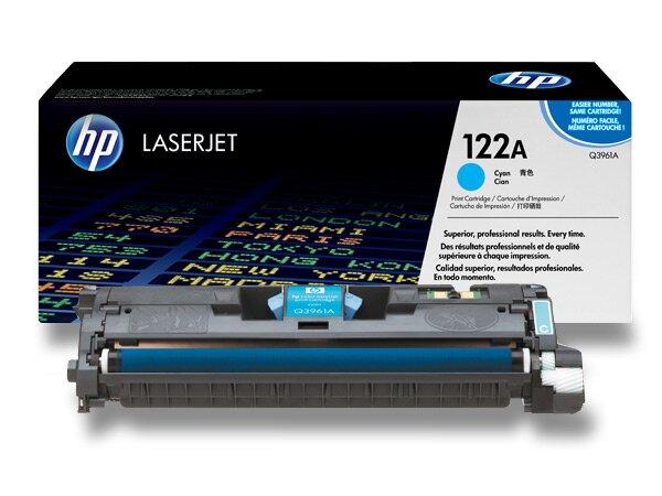 Toner HP Q3961A č. 122A pro laserové barevné tiskárny cyan (modrý)
