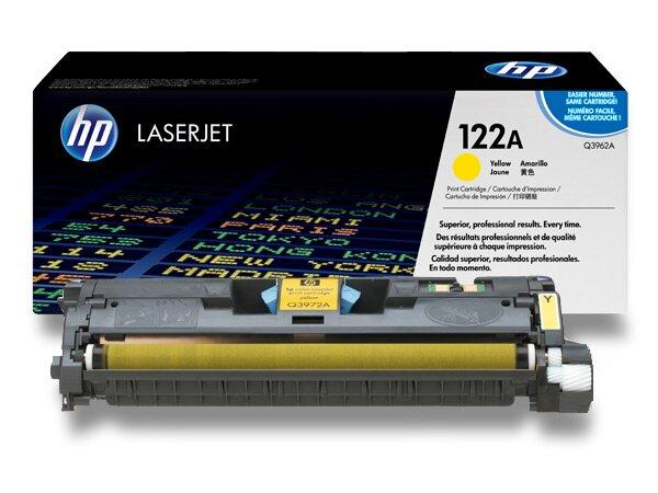 Toner HP Q3962A č. 122A pro laserové barevné tiskárny yellow (žlutý)