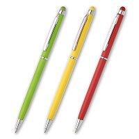 Nobla - kuličková tužka s funkcí dotykového pera, výběr barev