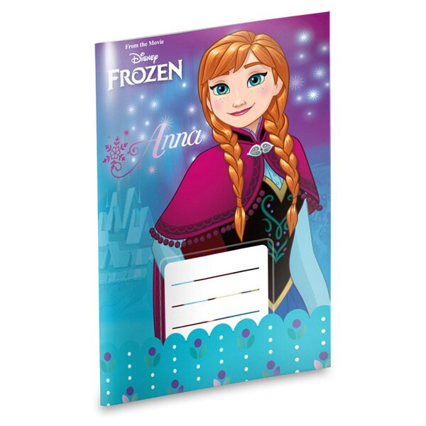Školní sešit Frozen A5, linkovaný, 20 listů
