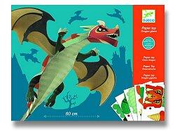 Origami sada Djeco - Velký drak
